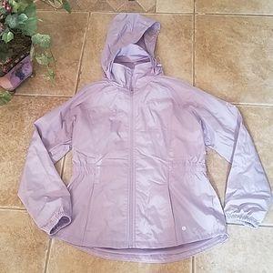 A Layers waterproof jacket